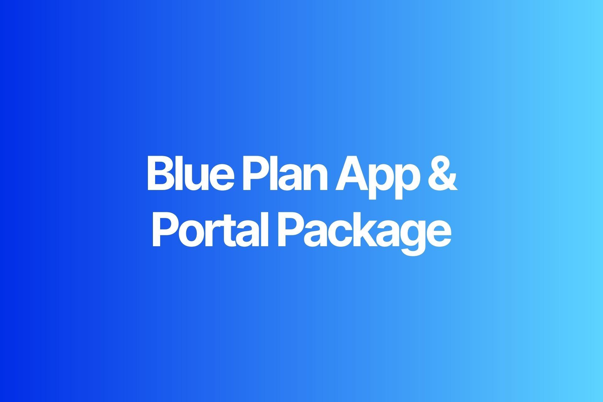 Blue App and Portal